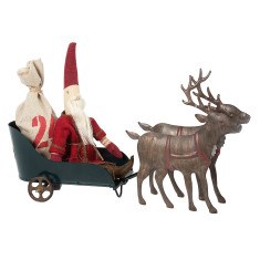 Santa's Sled with Reindeers