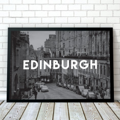 Edinburgh Travel Art Print
