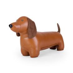 Zuny doorstop classic dachshund tan