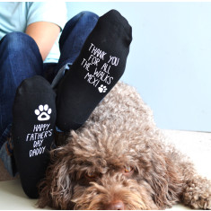 Father's Day Socks From The Dog