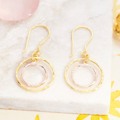 Jaisalmer Concentric Circle Earrings