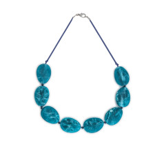 Thalassa resin necklace (various colours)