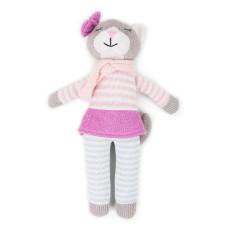 Weegoamigo Kitty Knit Toy