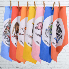Moveable Feast tea towels (choice of 2)