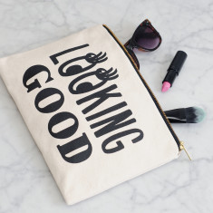 Looking Good Canvas Pouch