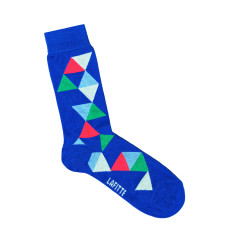 Lafitte scattered triangle socks (various colours)