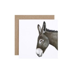 Donkey Greeting Card (pack of 5)