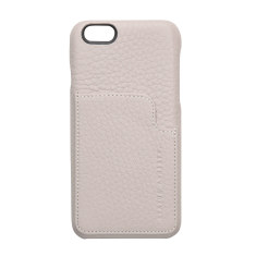 Hunter and Fox leather iPhone case in cement