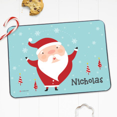 Santa personalised placemat