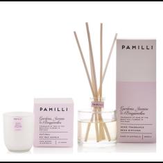 Italia Candle & Diffuser Duo - Gardenia Jasmine & Bougainvillea Fragrance