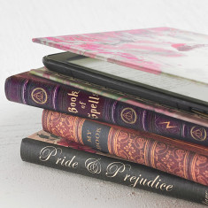Book style cover for Kindle eReader and Tablet