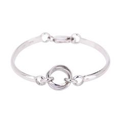 Sterling Silver Fine Helix Bracelet