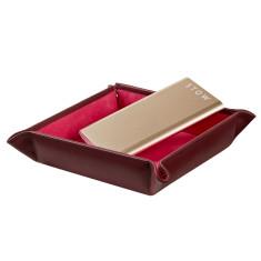 Ladies Medium Leather Trinket Tray