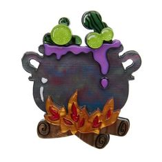 Erstwilder toil and trouble brooch