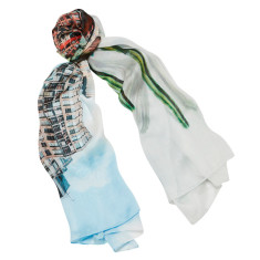 East vs West scarf