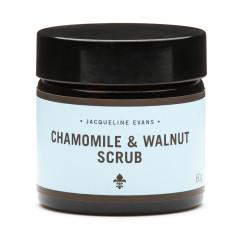 Chamomile & walnut scrub