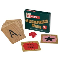 Scrabble paper bunting