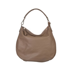 Stella Taupe Soft Leather Bag