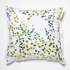 Jardin green European pillowcase