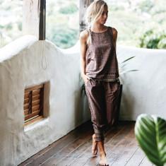 Java batik print pants