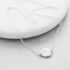 My Sunshine Silver Necklace