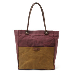 Canvas Waterproof Tote/Shopping Bag