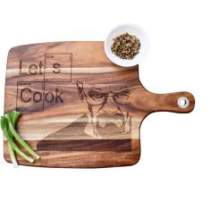 Breaking Bad let's cook chopping board