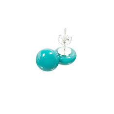 Confetti glass earrings (various colours available)