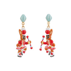 Cheerleader Rabbit Earrings