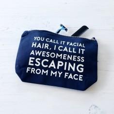 Facial Hair Wash Bag