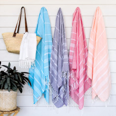 Basic soft Turkish towel in various colours