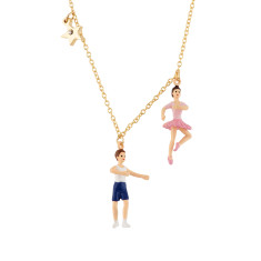 Ballet Dancers Necklace