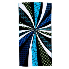 Random elements pocket beach towel