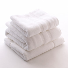 Supima Cotton Bath Collection - White