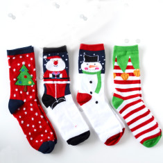 Set of Four Women's Christmas Socks