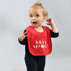 Personalised Sprout Baby Bib