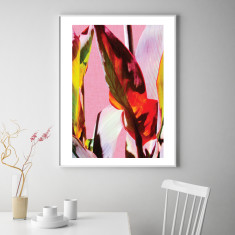 Cannas leaves #1 art print (various sizes)