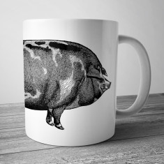 This little piggy coffee mug