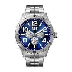 CAT CAMDEN series watch in steel & blue