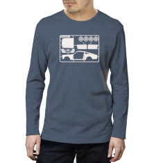 Make your own Mustang organic long sleeved tee