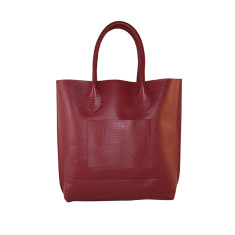 Mrs. Bush Leather Handbag