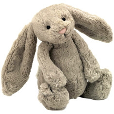 Bashful Bunny - super soft toy animal