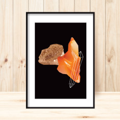 Gemstones2 art print