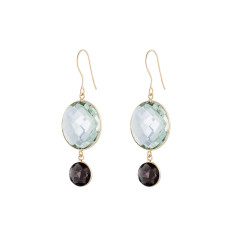 Felicity double drop earrings