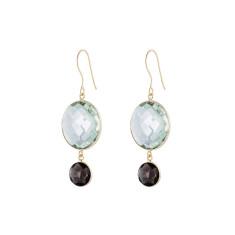 Felicity double drop earrings