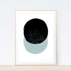 Eclipse Steel art print