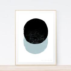 Eclipse Steel art print