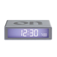 Flip Alarm Clock in Alu
