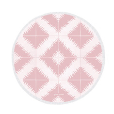 Agadir Large Luxury Round Beach Towel