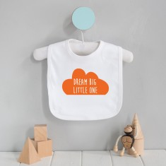 Dream big little one cloud baby bib